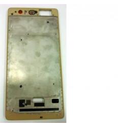 Huawei Ascend P9 Plus marco frontal dorado original