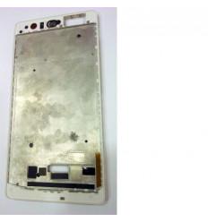 Huawei Ascend P9 Plus marco frontal blanco original