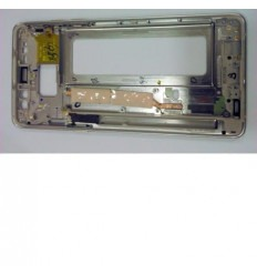 Samsung Galaxy Note 7 SM-N930F marco central dorado + flex v