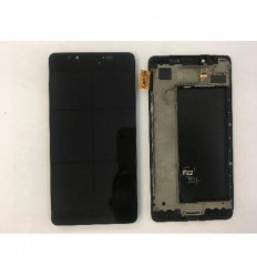 Nokia Microsoft Lumia 950 Pantalla lcd + táctil negro + marc