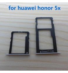 Huawei Honor 5X set 2 pcs soporte sim y memoria original