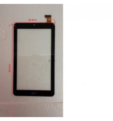 Acer Iconia One 7 B1-770 original black touch screen
