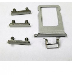iPhone 7 set 5pcs pequeñas partes blanco
