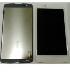 Lg K8 K350N pantalla lcd + tactil blanco original