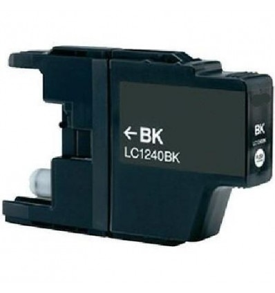 Recicled cartridge Brother LC1240 Black