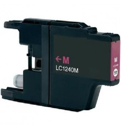 Recicled cartridge Brother LC1240 Magenta