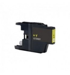 Recicled cartridge Brother LC1240 Yellow