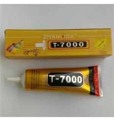 Adhesivo profesional T-7000 negro para táctiles y cristales