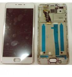 Meizu Meilan 3S m3s pantalla lcd + tactil blanco + marco ori