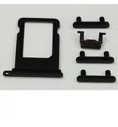 iPhone 7 plus set 5pcs pequeñas partes negro