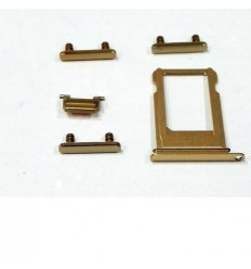 iPhone 7 plus set 5pcs gold small parts
