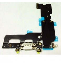 iPhone 7 plus conector de carga micro usb + microfono blanco