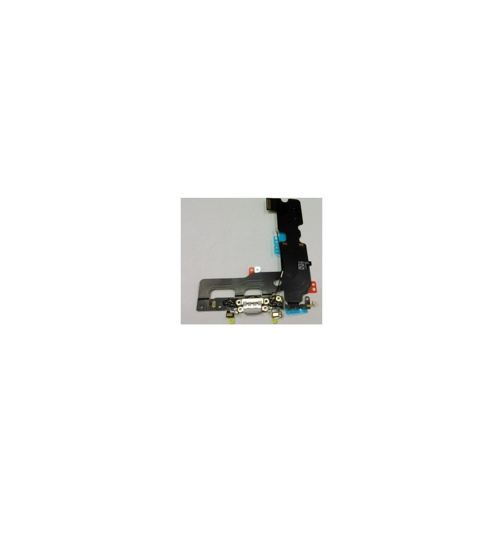 Iphone 7 Plus Conector De Carga Micro Usb Microfono Gris O