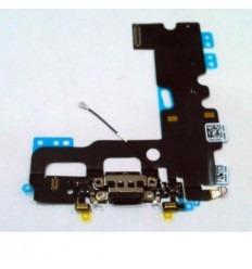 iPhone 7 flex conector de carga negro + microfono original
