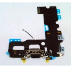 iPhone 7 original black plug in connector with mirophone fle