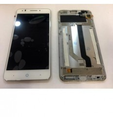 Zte A570 original display lcd with white touch screen with f