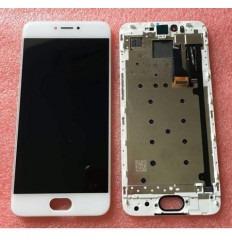 Meizu pro 6 lcd + tactil blanco + marco original
