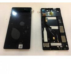 Lenovo vibe x2 lcd + tactil negro + marco original