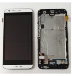 HTC Desire 620 pantalla tactil + LCD + marco negro original