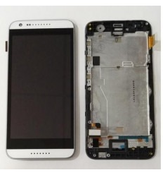 HTC Desire 620 touch lcd + display + frame black original