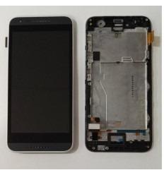 HTC Desire 620 pantalla tactil + LCD + marco blanco original