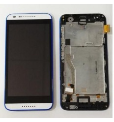 HTC Desire 620 touch lcd + display + frame blue original