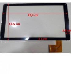 """Pantalla Táctil repuesto Tablet china 10.1"""" Modelo 44 negro"""