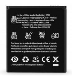Bateria original BQ Aquaris E4 1700mAh de desmontaje