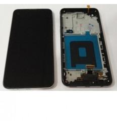 LG X Screen k500N K500H pantalla tactil + LCD + marco negro