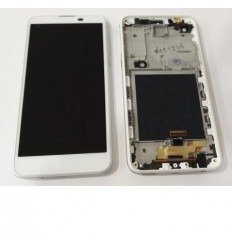 LG X Screen k500N K500H pantalla tactil + LCD + marco blanco