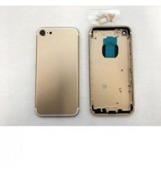 Iphone 7 carcasa trasera dorada