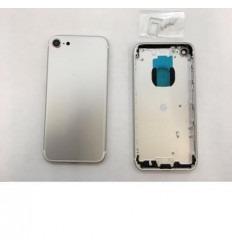 Iphone 7 carcasa trasera plata