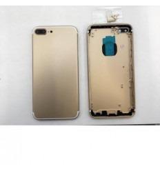 Iphone 7 plus carcasa trasera dorada