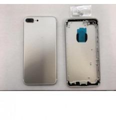 Iphone 7 plus carcasa trasera plata