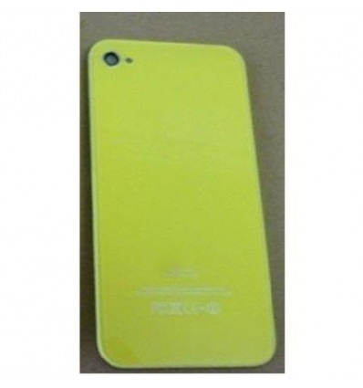 iPhone 4 back cover yellow