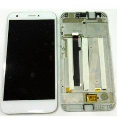 ZTE Blade A506 pantalla lcd + tactil blanco + marco original