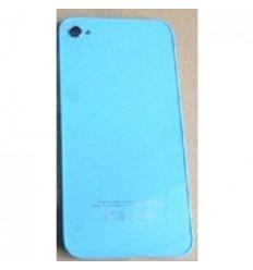 iPhone 4 cristal trasero azul