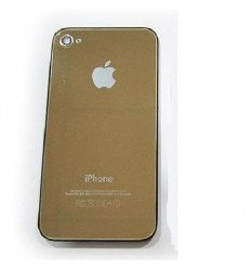 iPhone 4 back cover gold