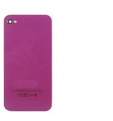 iPhone 4 back cover purple