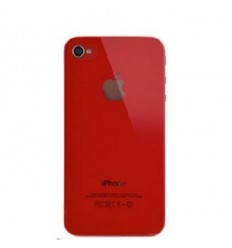iPhone 4 back cover red