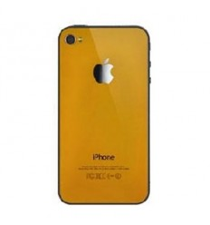 iPhone 4 back cover orange