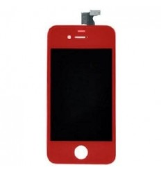 iPhone 4 LCD completo rojo