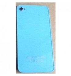 iPhone 4s cristal trasero azul