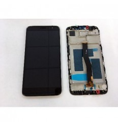 Huawei Nova plus MLA-L01 pantalla lcd + tactil negro + marco