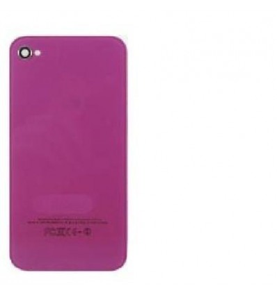 iPhone 4s back cover purple