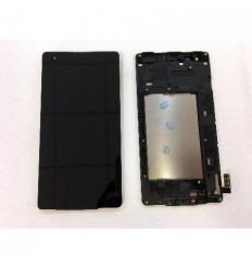 LG X Style K200 pantalla lcd + tactil negro + marco original