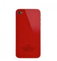 iPhone 4s cristal trasero rojo