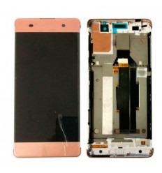 Sony Xperia XA F3111 F3113 F3115 pantalla lcd + táctil rosa