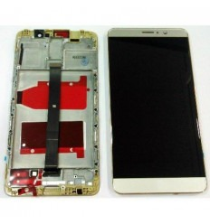 Huawei Mate 9 pantalla lcd + táctil dorado + marco original