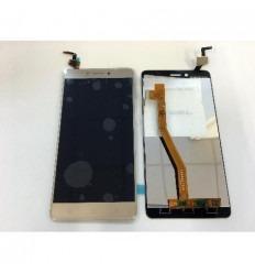 Lenovo K6 Note pantalla lcd + tactil dorado original